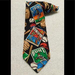 Addiction Baseball Sports Necktie Tie